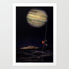 Jupiter Climber Art Print