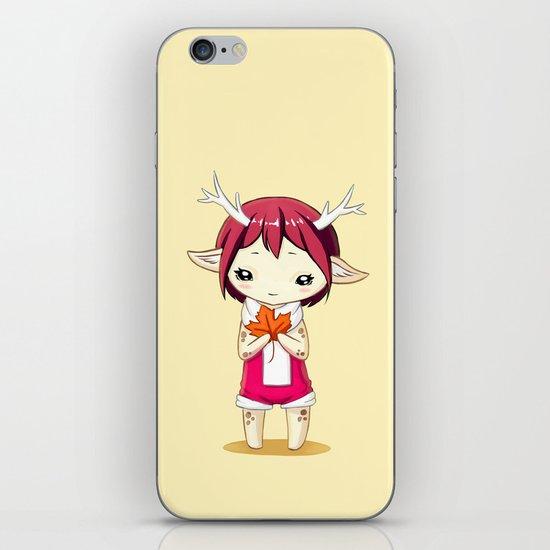Deer Girl iPhone & iPod Skin