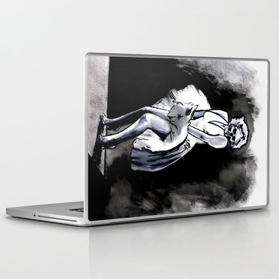 Skeleton Itch Laptop & iPad Skin