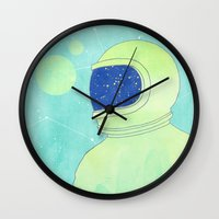 Wanderer Within Wall Clock