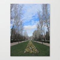 Springtime in Spain Canvas Print