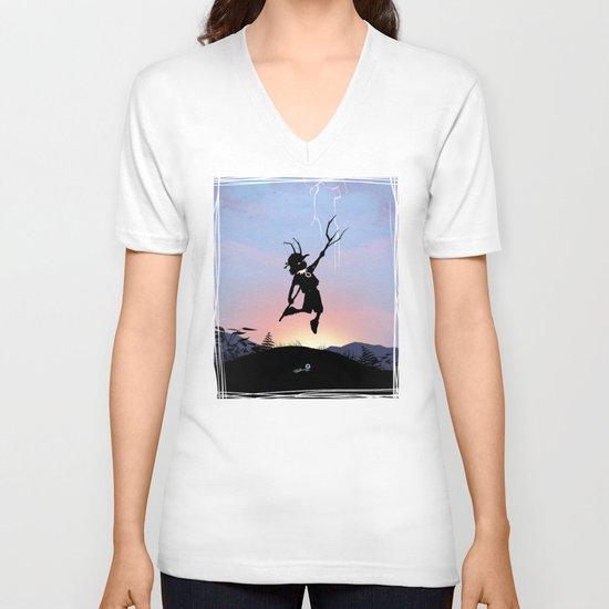 Loki Kid V-neck T-shirt