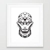 Mass Effect. Thane Framed Art Print