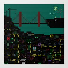 A Coded Message #2 Canvas Print