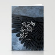 Six Of Crows Book Quote … Stationery Cards