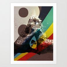 Love ve love love... Art Print