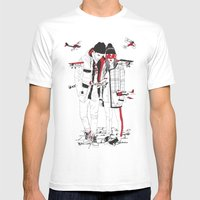 When Sight Is Restricted… Mens Fitted Tee White SMALL