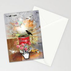 Rainbow Bird Stationery Cards
