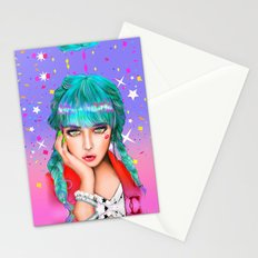 Red Hot Ruby Stationery Cards