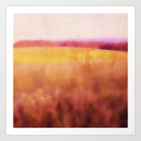 Pink Meadow Art Print