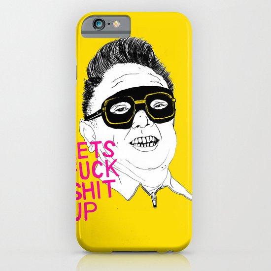 F*ck Sh*t Up iPhone & iPod Case