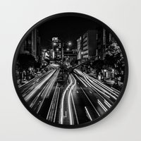 Naha Traffic Wall Clock