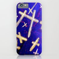 iPhone & iPod Case featuring Cross by takingachancexo
