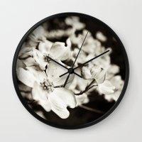 Close Encounter - B&W Ve… Wall Clock