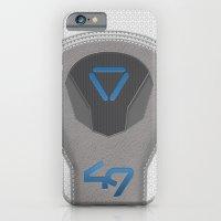 Oblivion Suit Tech 49 iPhone 6 Slim Case