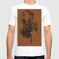 Cradle Life  Mens Fitted Tee White SMALL