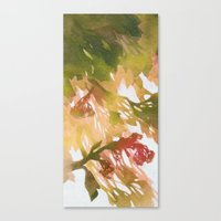 Morning Blossoms 2 - Oli… Canvas Print