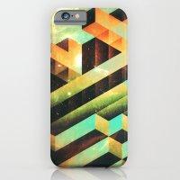 iPhone Cases featuring gyrdyn grwws by Spires