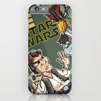 Star Wars - Han Solo x Bobba Fett iPhone 6 Slim Case