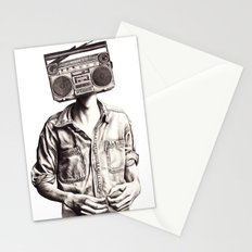 Radio-Head Stationery Cards