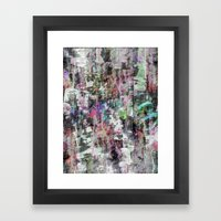 A balance between we and they but the as yet I, 10 [version, a] Framed Art Print
