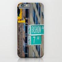 iPhone & iPod Case featuring Fashion Avenue  by Lucrezia Semenzato