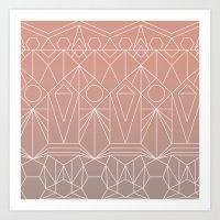 My Favorite Pattern 10 Y Art Print