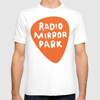 Radio Mirror Park Mens Fitted Tee White SMALL