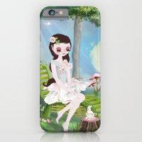 iPhone & iPod Case featuring Sarah BelleFleur by Crea Bisontine