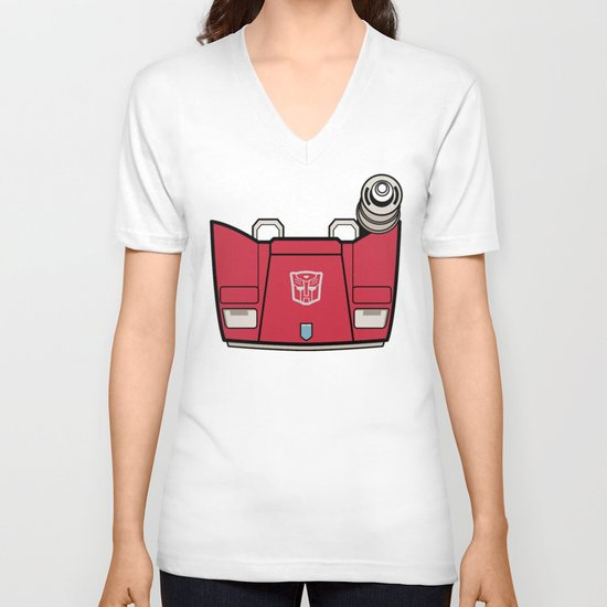 Transformers - Sideswipe V-neck T-shirt