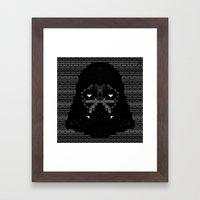 Star Wars - Darth Vader Framed Art Print