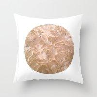Planetary Bodies - Sand Throw Pillow