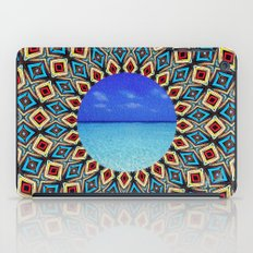 mandala sea iPad Case