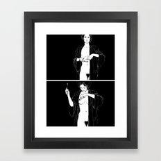 Mirror, pts. 1 & 2 Framed Art Print