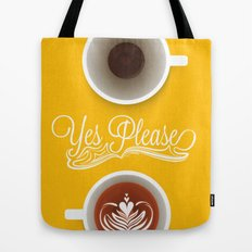 Yes Please Tote Bag