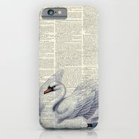 Vintage Swan iPhone 6 Slim Case