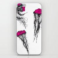 Jellyfishes iPhone & iPod Skin