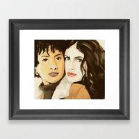 Take Me Baby, Or Leave Me Framed Art Print