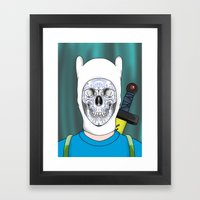 Finnished With Life Framed Art Print