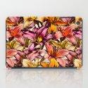 Daylily Drama - a floral illustration pattern iPad Case
