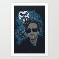 Burton´s Universe Art Print