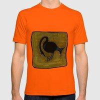 crane Mens Fitted Tee Orange SMALL