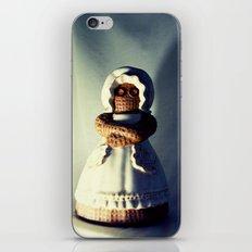 Menacing Ceramic/Burlap Horror Doll iPhone & iPod Skin