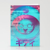Kitty Of The Rising Sun Stationery Cards