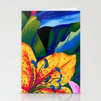 Let's Go Abstract Stationery Cards