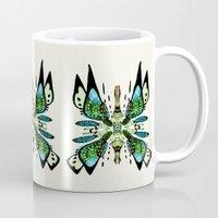 Japanese Butterfly Mug