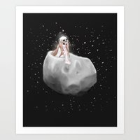 Lost In A Space / Phobos… Art Print