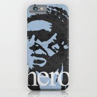 iPhone & iPod Case featuring Charles Bukowski - hero. by alex lodermeier