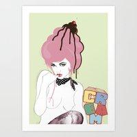cherry on top! Art Print