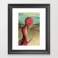 Waiting For The Harvest Framed Art Print